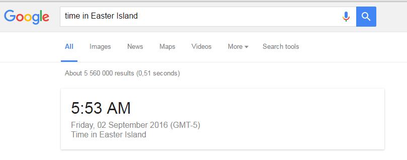 Google Time